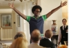 "BEN AND KATE: Tommy (Echo Kellum) distracts a 50th Anniversary party by singing while Ben steals a stuffed marlin off the wall in ""The Fox Hunt"" episode of BEN AND KATE airing Tuesday, Oct. 9 (8:30-9:00 PM ET/PT) on FOX. ©2012 Fox Broadcasting Co. Cr: Jennifer Clasen/FOX"