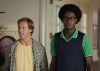 "BEN AND KATE: Ben (Nat Faxon, L) and Tommy (Echo Kellum, R) arrive at a country club to steal a giant stuffed marlin off the wall and are surprised to find a 50th Anniversary party in full swing in ""The Fox Hunt"" episode of BEN AND KATE airing Tuesday, Oct. 9 (8:30-9:00 PM ET/PT) on FOX. ©2012 Fox Broadcasting Co. Cr: Jennifer Clasen/FOX"