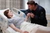 """BONES:  Booth (David Boreanaz, R) is worried about Brennan's (Emily Deschanel, L) condition after she is shot while working late at the Jeffersonian lab in the """"The Shot in the Dark"""" episode of BONES airing Monday, Feb. 11 (8:00-9:00 PM ET/PT) on FOX.  ©2013 Fox Broadcasting Co. Cr: Jordin Althaus/FOX"""