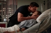 """BONES:  Booth (David Boreanaz, L) is worried about Brennan's (Emily Deschanel, R) condition after she is shot while working late at the Jeffersonian lab in the """"The Shot in the Dark"""" episode of BONES airing Monday, Feb. 11 (8:00-9:00 PM ET/PT) on FOX.  ©2013 Fox Broadcasting Co. Cr: Jordin Althaus/FOX"""