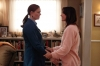 """BONES:  While hospitalized after being shot, Brennan (Emily Deschanel, L) struggles with visions of her mother (guest star Brooke Langton, R) in the """"The Shot in the Dark"""" episode of BONES airing Monday, Feb. 11 (8:00-9:00 PM ET/PT) on FOX. ©2013 Fox Broadcasting Co. Cr: Jordin Althaus/FOX"""