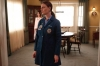 """BONES:  Brennan (Emily Deschanel, R) finds herself in a position that defies her usual logic in the """"The Shot in the Dark"""" episode of BONES airing Monday, Feb. 11 (8:00-9:00 PM ET/PT) on FOX. ©2013 Fox Broadcasting Co. Cr: Jordin Althaus/FOX"""
