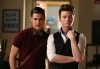 "GLEE: Blaine (Darren Criss, L) and Kurt (Chris Colfer, R) hang out in ""The New Rachel,"" the Season Four premiere episode of GLEE airing on a new night and time Thursday, Sept. 13 (9:00-10:00 PM ET/PT) on FOX. ©2012 Fox Broadcasting Co. Cr: Adam Rose/FOX"