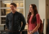 "GLEE: Will (Matthew Morrison, L) introduces a Marley (Melissa Benoist, R) as a new member of the glee club in ""The New Rachel,"" the Season Four premiere episode of GLEE airing on a new night and time Thursday, Sept. 13 (9:00-10:00 PM ET/PT) on FOX. ©2012 Fox Broadcasting Co. Cr: Mike Yarish/FOX"