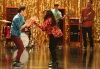 "GLEE: Mike (Harry Shum Jr. L,) and Mercedes (Amber Riley, R) return to help out at the glee club in the ""The Role You Were Born to Play"" episode of GLEE airing Thursday, Nov. 8 (9:00-10:00 PM ET/PT) on FOX. ©2012 Fox Broadcasting Co. Cr: Mike Yarish/FOX"