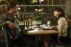 """NEW GIRL:  Jess (Zooey Deschanel, R) and Sam (guest star David Walton, L) talk about where they stand with each other in the """"Fluffer"""" episode of NEW GIRL airing Tuesday, Oct. 2 (9:00-9:30 PM ET/PT) on FOX. ©2012 Fox Broadcasting Co.  Cr: Greg Gayne/FOX"""