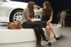 "NEW GIRL:  Jess (Zooey Deschanel, R) and Cece (Hannah Simone, L) have a heart-to-heart after Jess fills in for Cece at a car show in the ""Models"" episode of NEW GIRL airing Tuesday, Oct. 23 (9:00-9:30 PM ET/PT) on FOX. ©2012 Fox Broadcasting Co.  Cr:  Greg Gayne/FOX"