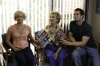 "RAISING HOPE: Virginia (Martha Plimpton, L) and Burt (Garret Dillahunt, R) take Maw-Maw (Cloris Leachman, C) to the doctor in the all-new ""Throw Maw Maw from the House, Part One"" episode of RAISING HOPE airing Tuesday, October 9 (8:00-8:30 PM ET/PT) on FOX. ©2012 Fox Broadcasting Co. CR: Jordin Althaus/FOX"