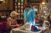 "RAISING HOPE: Virginia (Martha Plimpton, L) Jimmy (Lucas Neff, second from L) and Maw Maw (Cloris Leachman, second from R) run a candy lab out of the house in the ""Candy Wars"" episode of RAISING HOPE airing Tuesday, Nov. 20 (8:00-8:30 PM ET/PT) on FOX. Also pictured Baylie/Rylie Cregut. ©2012 Fox Broadcasting Co. CR: Prashant Gupta/FOX"