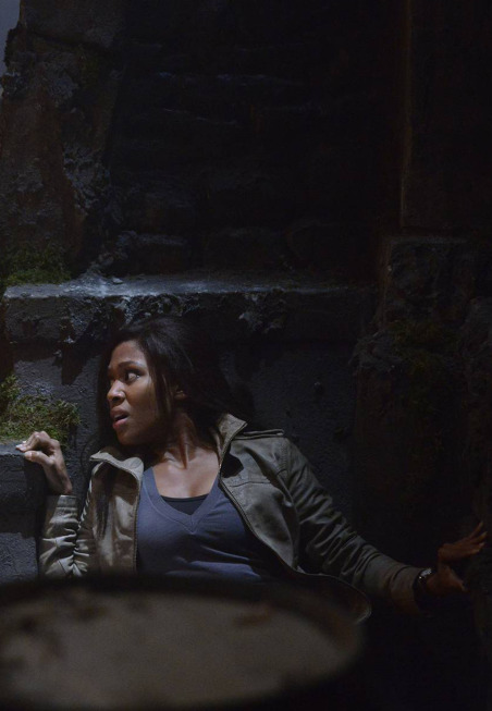 """SLEEPY HOLLOW: Lt. Abbie Mills (Nicole Beharie) is on a mission to unravel the mysteries lurking in Sleepy Hollow  in the""""Blood Moon"""" episode of SLEEPY HOLLOW airing Monday, Sept. 23 (9:00-10:00 PM ET/PT) on FOX. ©2013 Fox Broadcasting Co. CR: Brownie Harris/FOX"""