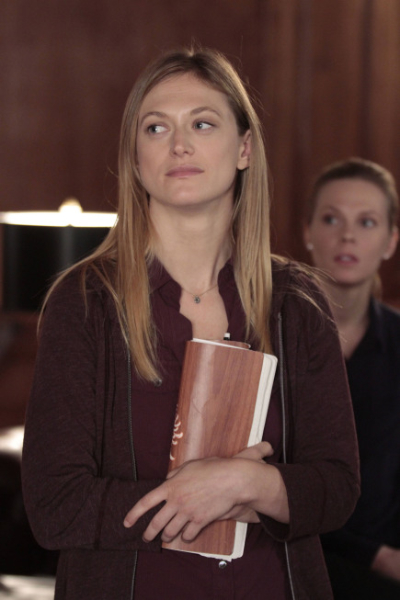 """THE FOLLOWING: Amanda (guest star Marin Ireland, L) and Louise (guest star Annika Boras, R) are Joe Carroll's followers  in the """"Love Hurts"""" episode of THE FOLLOWING airing Monday, March 18 (9:00-10:00 PM ET/PT) on FOX. ©2013 Fox Broadcasting Co. CR: Giovanni Rufino/FOX"""