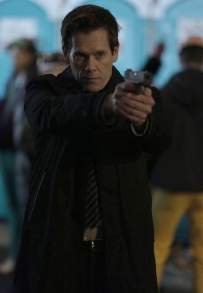"THE FOLLOWING: Ryan (Kevin Bacon) goes after Joe Carroll's followers in the ""Love Hurts"" episode of THE FOLLOWING airing Monday, March 18 (9:00-10:00 PM ET/PT) on FOX. ©2013 Fox Broadcasting Co. CR: Giovanni Rufino/FOX"