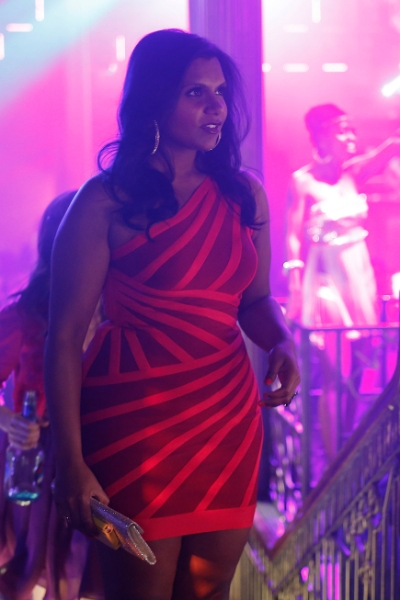 "THE MINDY PROJECT: Mindy (Mindy Kaling) visits the hottest nightclub in town in the ""In the Club"" episode of THE MINDY PROJECT airing Tuesday, Oct. 9 (9:30-10:00 PM ET/PT) on FOX. ©2012 Fox Broadcasting Co. Cr: Greg Gayne/FOX"