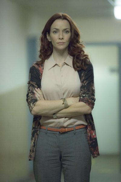 "TOUCH:  Annie Wersching guest-stars in the ""Clockwork"" episode of TOUCH airing Friday, March 29 (9:00-10:00 PM ET/PT) on FOX. ©2013 Fox Broadcasting Co.  Cr:  Isabella Vosmikova/FOX"